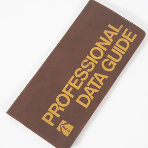 KODAK PROFESSIONAL DATA GUIDE - 1978