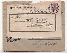 Lettera Ionaζ Sutor Stoccarda FIORI - & Ieggere fabbrica 1922 pubblicità! (b5