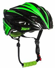 AWE® AWEBlade™ In Mould Adult Mens Cycling Helmet 55-58cm Black Green