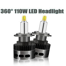 110W 360° CSP LED Headlights Bulbs Kit H1 H7 H11 D1S D2S D3S D4S D1R D2R D3R D4R