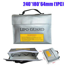 LiPo Battery Safety Guard Charging Protection Bag Explosion Proof 240X64X180mm