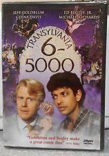Transylvania 6-5000 (DVD, 2002) NEW RARE 1985 JEFF GOLDBLUM COMEDY
