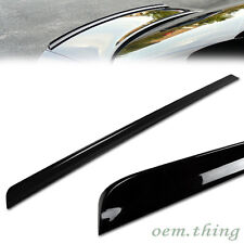 Painted BMW E30 3-Series Sedan Rear Trunk Lip Spoiler 1984 Color #475