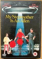 My Stepmother is An Alien DVD 1988 Cult Sci-Fi Comedy Classic with Kim Basinger