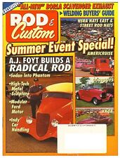 Rod & Custom December 1994--featuring 32,37,40,46 Ford, 47 Mercury, 33  Willys