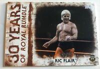 Ric Flair 2018 WWE Undisputed Royal Rumble Orange Parallel Card 92/99