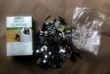 Clipstar mit Dübeln + Schrauben 32 Stück für Sockelleisten - Clip - Leistenclip