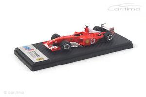 Ferrari F2002 GP Frankreich 2002 Michael Schumacher BBR 1:43 BBRCS002