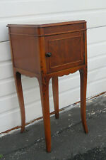 French Walnut Nightstand Side End Lamp Table 1555