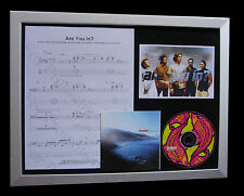 INCUBUS Are You In LTD MUSIC CD GALLERY QUALITY FRAMED DISPLAY+FAST GLOBAL SHIP