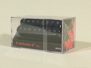 DiMarzio D Activator 8 Pickups Neck or Bridge in Black DP819/DP820 8 String