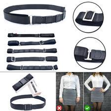 Black Near Shirt-Stay Best Shirt Stays Adjustable Tuck It Belt Tucked Shirt Stay