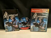 Resident Evil 4 (Sony PlayStation 2, 2005)  PS2  - Greatest Hits complete cib