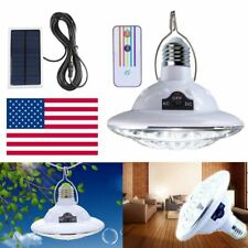 22LED Outdoor/Indoor Solar Lamp Hooking Camp Garden Lighting Remote Control HOT