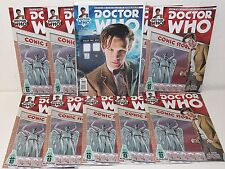 DOCTOR WHO 11th Dr #1 - Photo & (10) Alakazam Exclusive Variants - TITAN - BBC