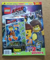 The Lego Movie 2 Movie Magazine 2 Posters Emmet Minifigure
