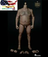 WorldBox 1/6 Durable Figure Plump Body AT018 For Hot Toys UFC WWE ❶USA IN STOCK❶