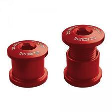 XON Viti chiusura corone guarnitura alluminio rosso