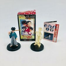Rurouni Kenshin Yahiko Figure Lot by Re-Ment Includes Color And Crystal Version