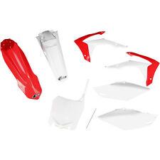 UFO Body Kit komplett rot-weiß Honda CRF 250 R 14-17 , CRF 450 R 13-16