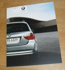 BMW SERIE 3 opuscolo di E91 320i 325i 335i 318d 320d 325d 330d 335d M Sport 2008