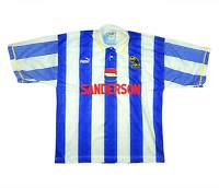 Sheffield Wednesday 1993-95 Authentic Home Shirt (Very Good) L Soccer Jersey