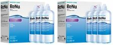 Bausch Lomb ReNu MPS Gentle Contact Lens Solution For Sensitive Eyes 6x240ml