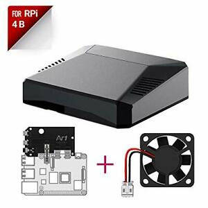 Argon ONE Raspberry Pi 4 Case with Cooling Fan and Power Button   Supports Re...