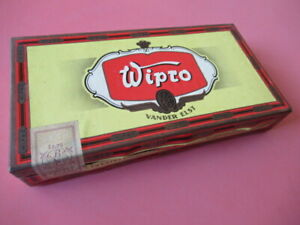 BOITE ANCIENNE CARTON : CIGARES WIPRO 50 CIGAREN / VANDER ELST  CIGARILLOS TABAC