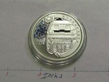 2008 BEIJING OLYMPICS COURTYARD CHINA 10 YUAN 999 SILVER COIN VERY RARE NICE #B