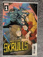 Meet The Skrulls #1 Marvel Comics 2019  Cover A 1st Print  Key!