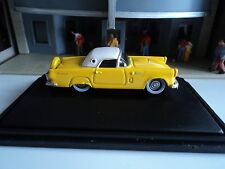 Oxford  1956 Ford Thunderbird  Goldenglow Yellow     1/87   HO   diecast car