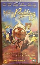The Magic Pudding ABC PAL VHS Video Tape feat. voices John Cleese,Toni Collette