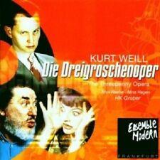 ESM/NINA HAGEN/MAX RAABE - DIE DREIGROSCHENOPER 2 CD  28 TRACKS OPERA NEW+