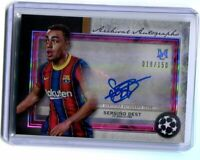 2020-21 Topps Museum Collection Soccer Auto SERGINO DEST FC Barcelona /150