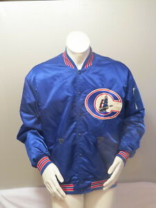 Columbus Clippers Jacket - Satin Pro Model by Rawlings - Men's Size 46