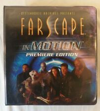 Farscape Season In Motion trading cards Base Set Binder Chasers Preview +more