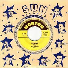"ROY ORBISON 'Domino' GENE ROSS 'Everybody's Trying Kiss Baby' 7"" NEW Sun Elvis"
