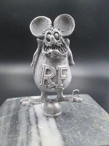 vintage rare  rat fink ed roth ratrod hotrod car hood ornament