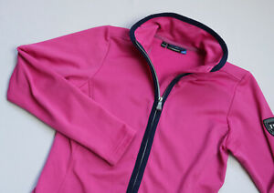J.Lindeberg Huxley Technical Jersey jacket womens top size Small UK 8 EU 36 Pink