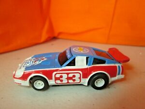 Vintage TYCO Datsun #33 w/TYCO Chassis HO Slot Car