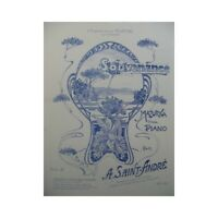 SAINT-André A. Recuerdo piano partitura sheet music score