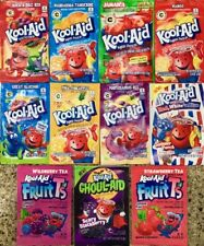 Kool-Aid Drink Mix Set of 11 Extremely Rare Set Expired Collectible