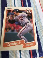 1990 Fleer Cal Ripken Jr. #187 baltimore orioles mlb baseball card