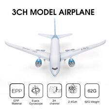 QF008 Boeing Miniature Model Plane 3CH 2.4G Remote Control EPP Airplane Toy C8T1