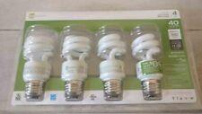 ECOSMART Soft White Compact Fluorescent Light Bulbs 4-Pack 40 Watt Equivalent