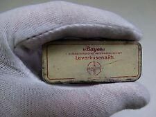vintage tin box Bayer Leverkusena Rh medical pharmaceutical empty box ! No.KOL