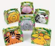 Zoo Animal Treat Gift Boxes Birthday WEDDING Favor SHOWER 1 Dozen Boxes