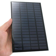 DIY 2.5W 18V Solar Cells Polycrystalline Solar Panel Mini Portable Solar Charger