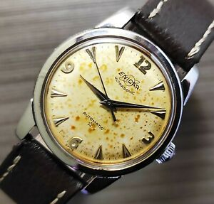 1950's VINTAGE ENICAR ULTRASONIC  21J AUTOMATIC MENS WATCH AR1034/314962